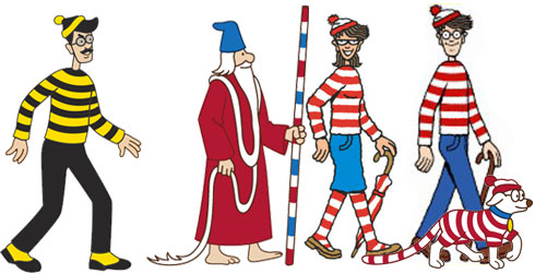 Odlaw, Wizard Whitebeard, Wenda, and Waldo