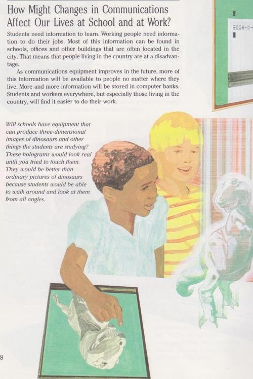 3. Predicts the iPad! (Okay, educational holograms are still a ways away...)