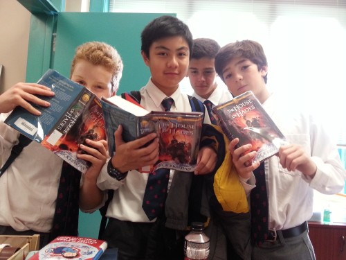 First ones to hold these precious tomes!