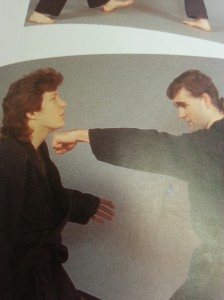 An epic clash between a mullet and a tiny ponytail.