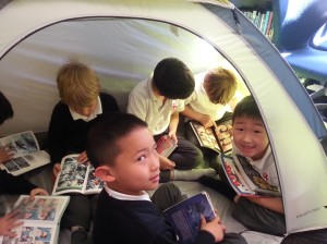 You can squeeze EIGHT Grade 1s in the tent.